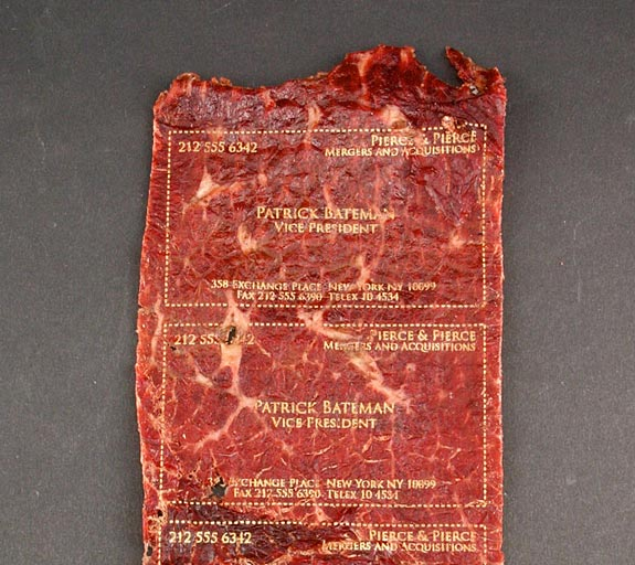 Meat Business Card