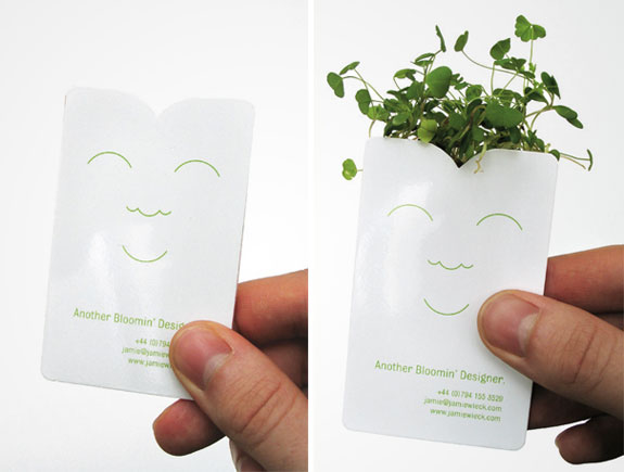 Bloomin' Designer's Business Card