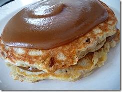banana smore pancakes
