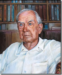 Retrato de Graham Greene