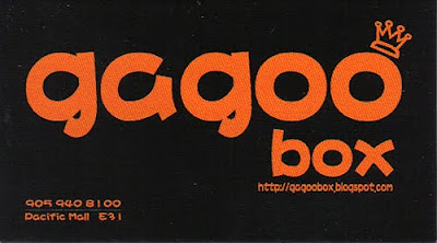 gagoo box business card