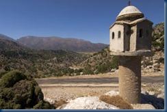 oratoire, plateau d'Omalos et montagnes blanches