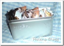 Snackslådan, tidigare knäckebröds låda