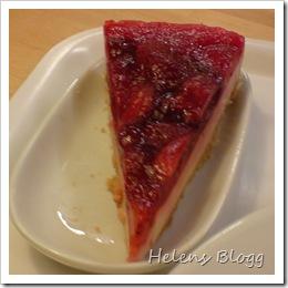 Jordgubb cheesecake