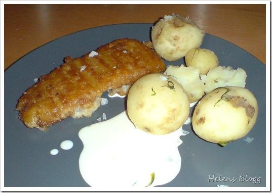 Findus Spröd gourmetfilé, färsk potatis