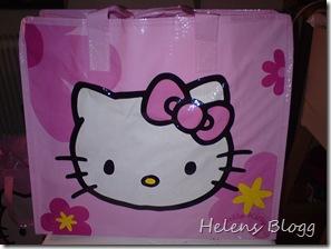 Liten Hello Kitty väska, 20 kronor