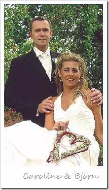 Carolines bröllopsfoto
