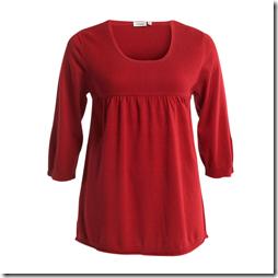Röd Lindex tröja