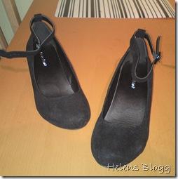 Graceland svart sko