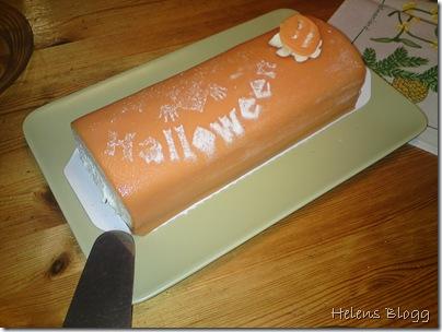 Halloween tårta från Ica Maxi Hyllinge