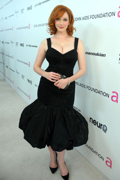 christina hendricks hot lady