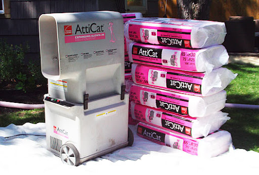 owens corning atticat insulation blowing machine