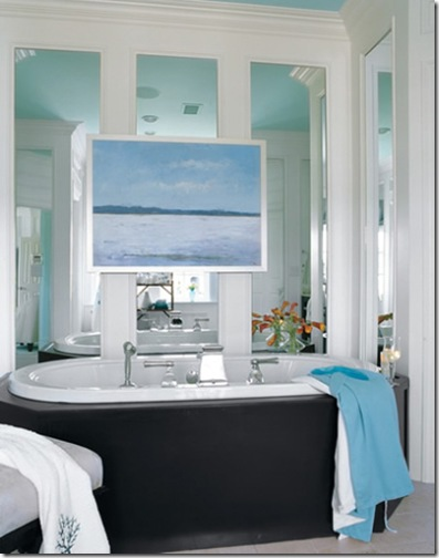 Where the style things are some pretty inspirational for Seascape bathroom ideas