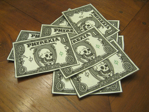 poison money pile