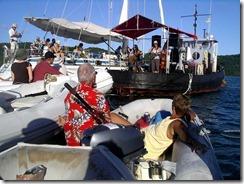Clarkes Court Bay dinghy concert (2)