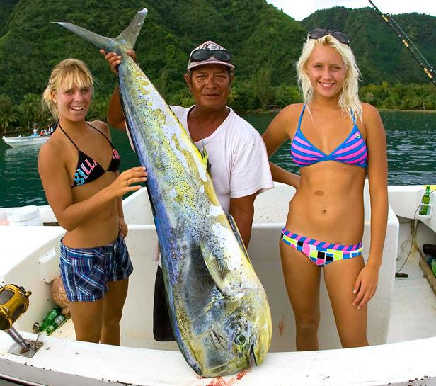 La Pesca del Dorado por José Manuel López Pinto / Actualizado al 27/07/12 Wahines02a