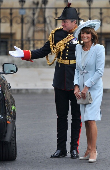 casamento real Carole Middleton