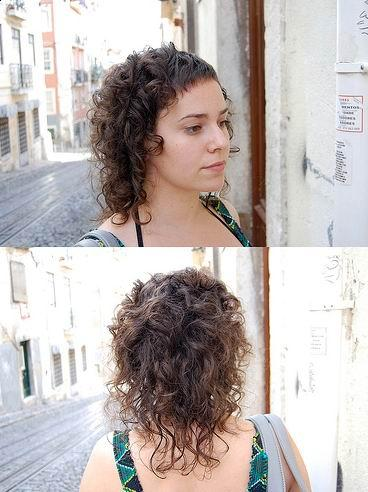 medium curly hairstyle. Popularity medium hairstyles