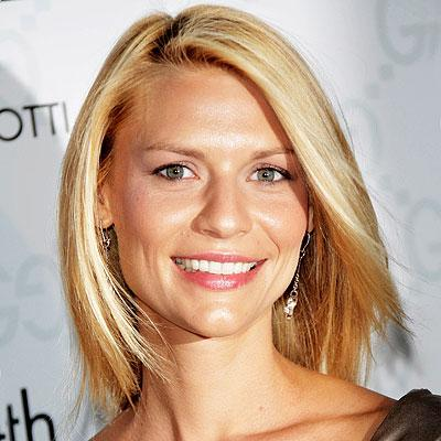 Hairstyles With Medium Straight Hair. Claire Danes Medium Straight