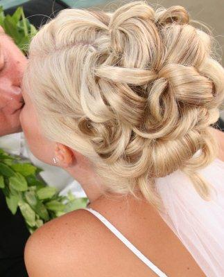 wedding updo image