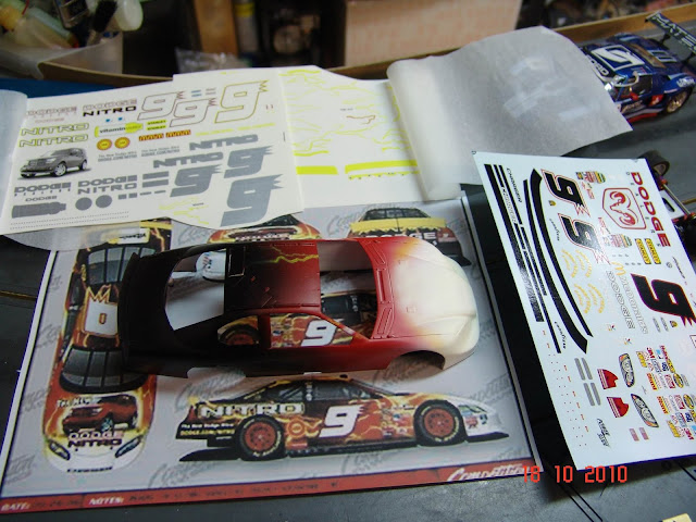 NASCAR Dodge Charger A work in progress DSC07475