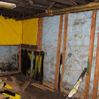 Basement Front Wall (Before)
