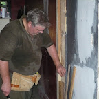 Ray Blankenship Builing a Door Frame