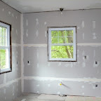 Drywalled Kitchen