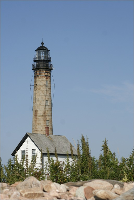 Petit Manan Lighthouse, constructed in 1855