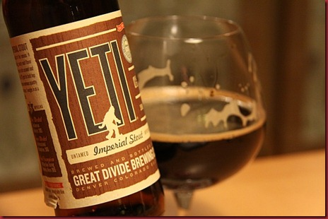 Great Divide Yeti 05 Nov10 label hand