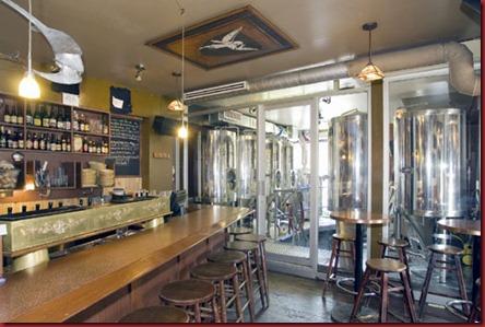 DieuDuCiel Brasserie inside