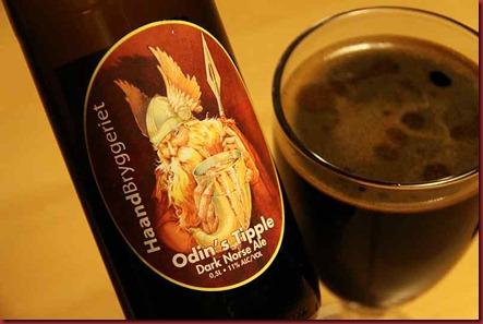 Haandbryggeriet Odin's label