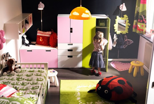Kids Bedroom Layout from IKEA 2011