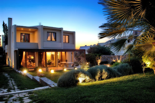 Luxury House Interior in Greece