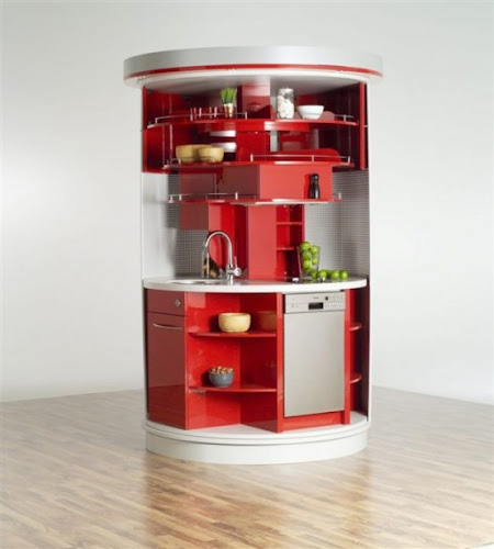 Compact And Stylish Kitchen DA cor