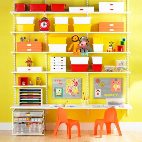 Inspirational design organizing children s spaces for for Kids room organization