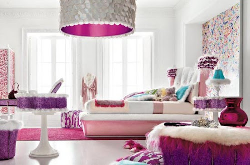 Glamorous Girls Bedroom Design from Alta Moda