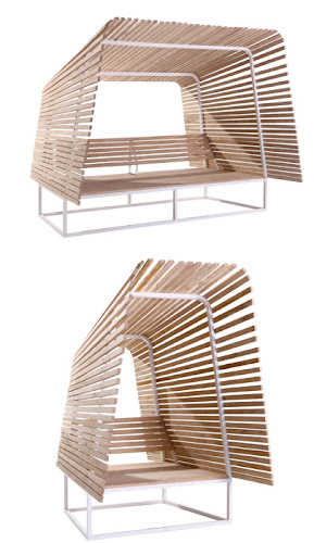 Simple Outdoor Shelter Inspiration by Bleu Nature