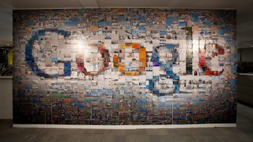 Winners from Google's Wall Art Contest
