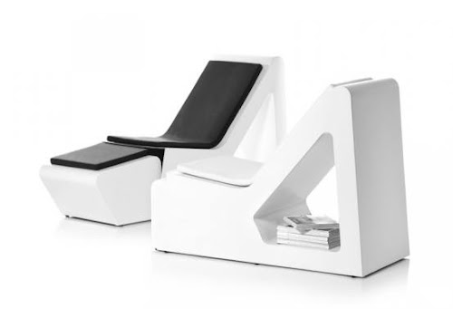 Cool Chaise Lounge with Storage