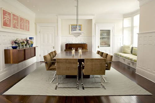 Dining Room Decorating With Rugs