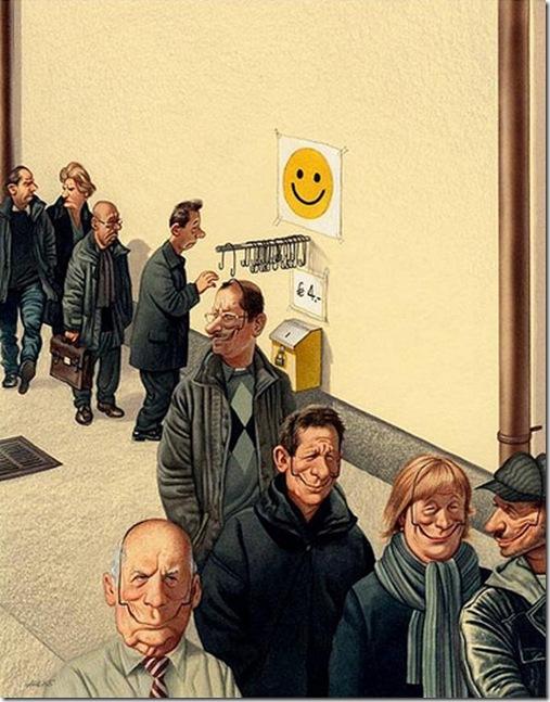 Smile forçado