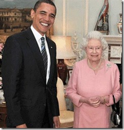 1 Rainha com Obama