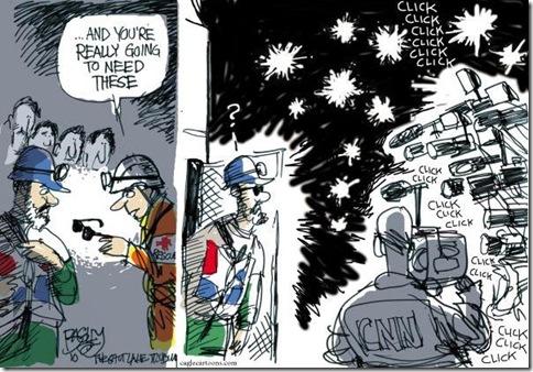 Mineiros - Cagle Cartoons