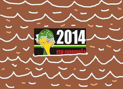 2014 afundando na lama