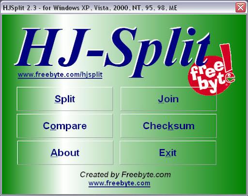 เทคนิคการรวมไฟล์นามสกุล 001, 002, 003, ... ด้วยโปรแกรม 7-Zip Hjsplit