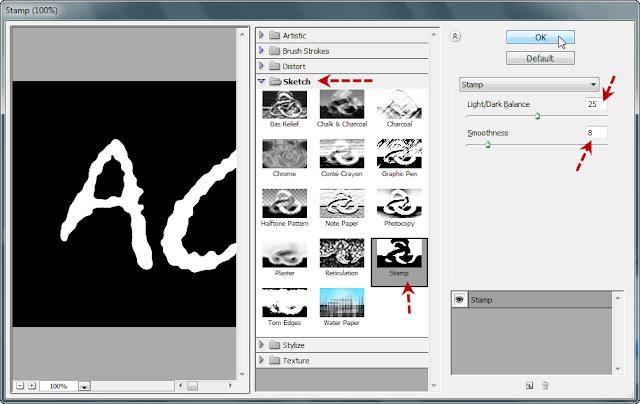 เทคนิคการสร้างตัวอักษร Acrylic [Text Effect] Acrylic09