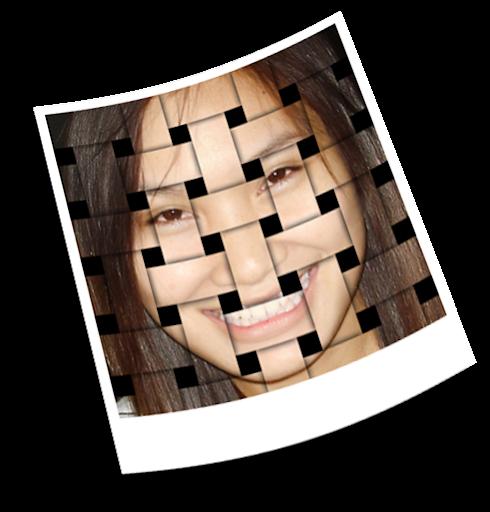 เทคนิคการทำภาพแบบ Interweaving Photo Strips [Photo Effect] JStrips