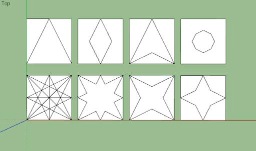 มหัศจรรย์รูปสี่เหลี่ยมกับ SketchUp Sq-05