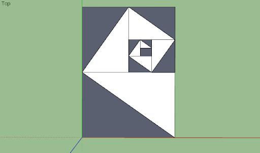 มหัศจรรย์รูปสี่เหลี่ยมกับ SketchUp Sq-15